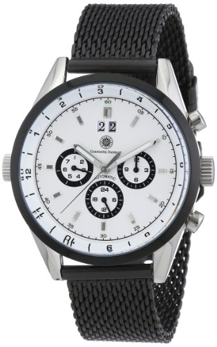 Constantin Durmont Gents Watch XL Analogue Automatic Carson Stainless Steel Coated Cd-Cars-At-Ipm2-Stip-WH
