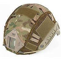 Decho-C - Casco táctico militar de combate rápido para casco de camuflaje para MH/PJJ, tipo casco rápido, airsoft, paintball, caza, tiro, CP