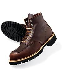 Red Wing Shoes 8146 - Náuticos de Piel para hombre Marrón Marrón/marrón ...