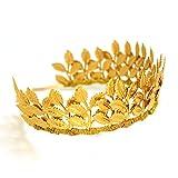 OUMOU Frauen Gold Lässt Hochzeit Kopfstück Diadem Krone Für Party - Abschlussball - Wahl