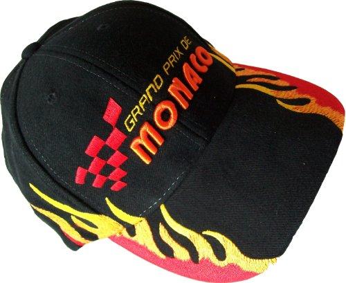 Formule 1 Jugendliche '/Erwachsene Cap mit Monaco Grand Prix Motiv-Modell Nr. 3-Größenverstellbar