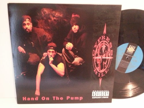 Cypress Hill HAND ON THE PUMP, 4 track EP, 44 74332