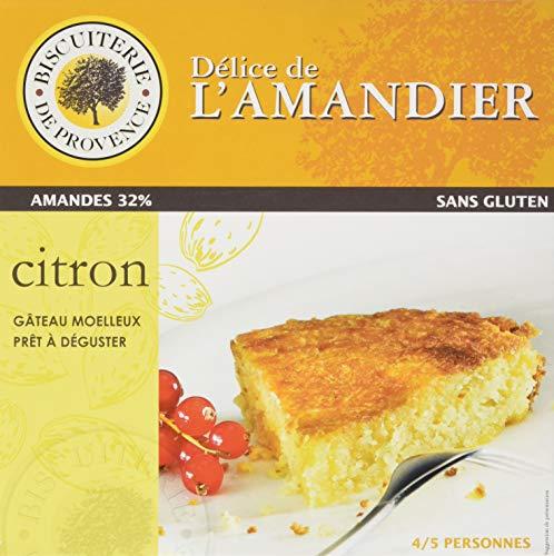 Delice de l'amandier glutenfreie provenzalische Kuchenspezialität mit Zitrone und Mandel, 1er Pack (1 x 240 g)