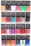Makeup Mania Nail Polish Set of 24 Pcs, MultiColor No. 86-87 (Combo Of 24)