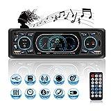Autoradio USB Bluetooth, MEKUULA Poste Radio Voiture 4x60W 1 Din MP3 Lecteur de Voiture Stéréo Soutient...