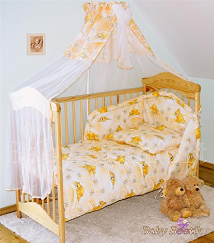 7 Pcs Baby Bedding Set with Cot ...