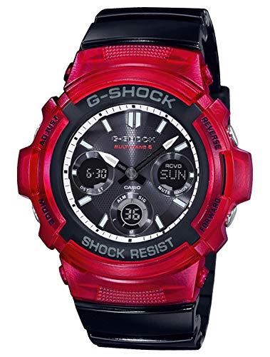 Casio G-Shock Funk-Solar-Armbanduhr AWG-M100SRB-4AER