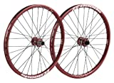 Spank Laufradsatz Spoon32 EVO wheelset 20mm + 12/150mm incl. adapter, red, 26