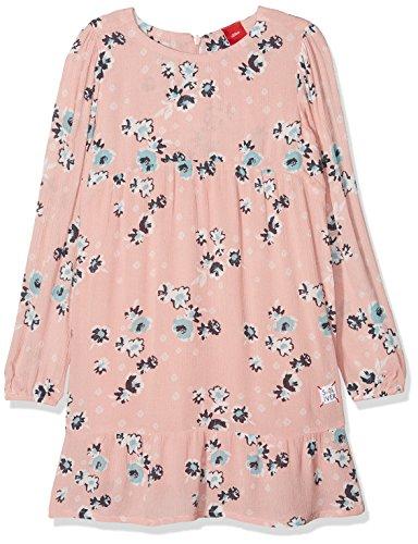 (s.Oliver Mädchen Kleid 53.807.82.2831, Pink (Dusty Pink AOP 42a3), 110)