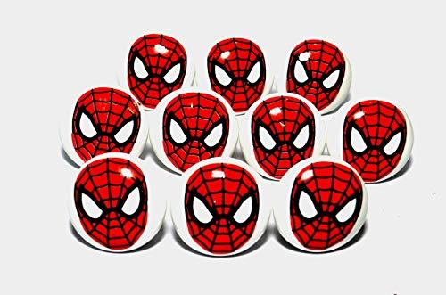 Kaizen Casa Marvel Spider-Man cerámica Perilla de cajón Decoración para el hogar Recuerdo
