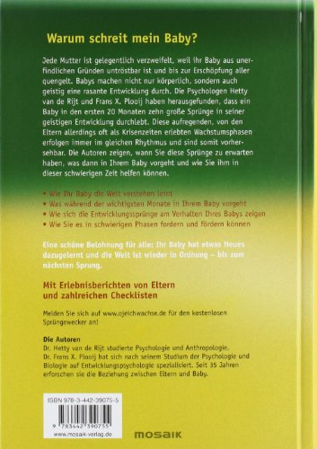Livres Couvertures de Oje, ich wachse!: Von den 10