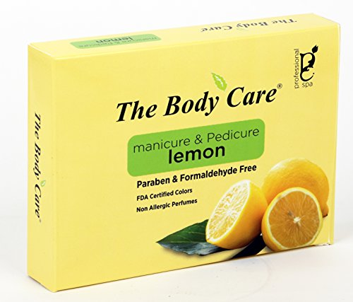 The body care lemon hand and foot kit mini set of 6  available at amazon for Rs.120
