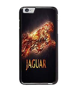 Fuson Jaguar Back Case Cover for APPLE IPHONE 6 PLUS - D3675