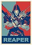 Instabuy Poster Reaper Propaganda Overwatch - A3 (42x30 cm)