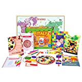 Best Games For 5 Year Olds - Learning Toy for Kids - Italy Activity Kit Review