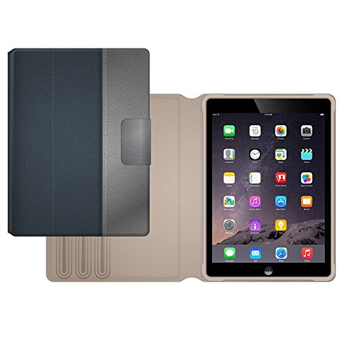 Griffin TurnFolio Schutzhülle für Apple iPad Air 2 - nickel - 2 Case Apple Griffin Air Ipad