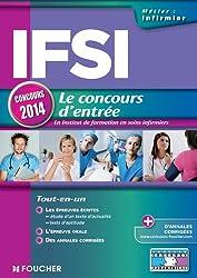 IFSI Le concours d'entrée concours 2014