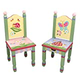 2 chaises enfant Magic Garden bo...