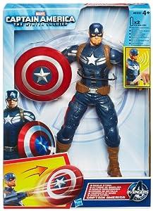 Marvel - Figura electrónica Capitán América (Hasbro A6300E27)