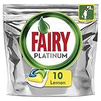 Fairy Platinum All In One Lemon Dishwasher Tablets 10 pack