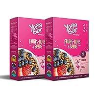 Yogabar Wholegrain Breakfast Muesli Fruits, Nuts + Seeds, 400g (Pack of 2)
