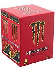 Monster LH44 Energy Cans, 4 x 500 ml