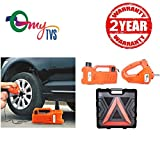 #5: myTVS 3 Ton Electronic Car Jack & Wrench (5 in 1 Kit) Machine with 2 Yr Warranty for Toyota Fortuner All Years