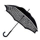 Fulton Bloomsbury Kontrastfleck Double Canopy Regenschirm