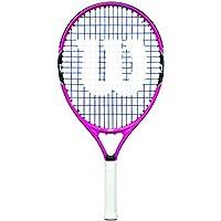 Wilson Racchetta da tennis per bambini, Per giocatori da fondo, Per principianti ed esperti, BURN PINK 21, Misura 5-6 anni, Rosa/Nero, WRT218000