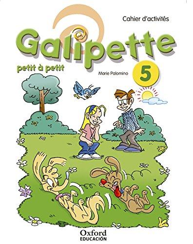Galipette Petit 5.º Primaria. Cahier d'exercises - 9780190513191 (Galipette Petit à Petit) por Marie Palomino