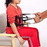 QEES Trasling- Arnés de cinturón de gait con asas acolchadas, cinturón médico para silla de ruedas, cama ZYD01
