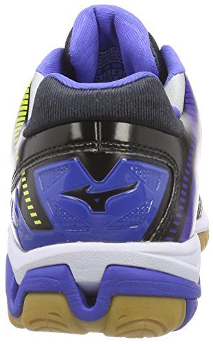 Mizuno Wave Stealth 3, Chaussures de Handball femme Blau (dazzling blue/white/blue)