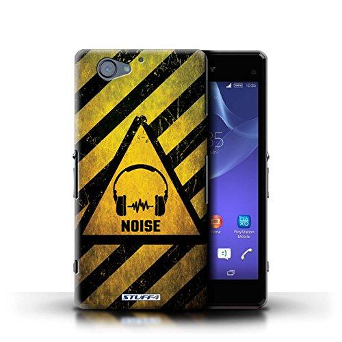 Kobalt® Imprimé Etui / Coque pour Sony Xperia A2 / Bruit/Musique conception / Série Signes de Danger Bruit/Musique