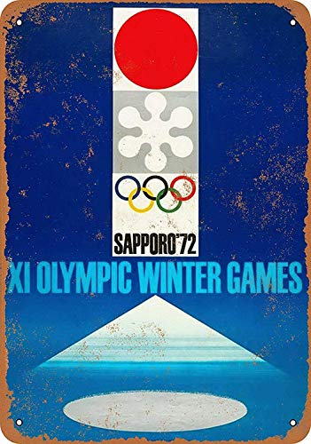 Sary buri Winter Olympics Sapporo JapanWandkunst Garage Club Bar Dekoration -