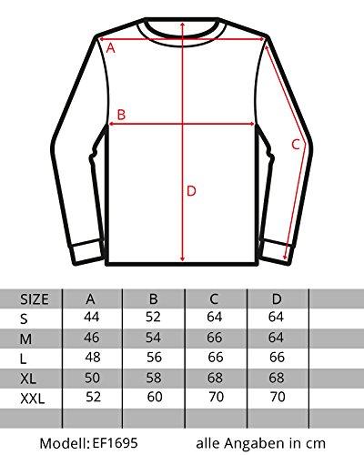 EightyFive Herren Feinstrick-Pullover Gerippt Streifen Weiß Blau Schwarz EF1695 Weiß
