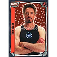 Marvel Missions #226 TONY STARK Mirror Foil Karte von TOPPS