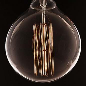 extra large globe w squirrel cage loop filament vintage edison light bulb b22 bayonet. Black Bedroom Furniture Sets. Home Design Ideas