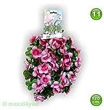 W01171011 Fahrradgirlande Blumengirlande Blume Pinktöne 120 cm