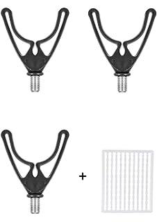 Rubber Butt Grips pour bancksticks Rod Pods