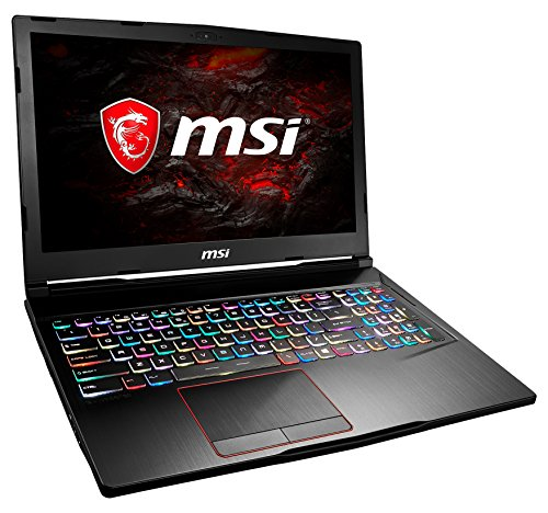 MSI GE63VR 7RE-036DE Raider (39,6 cm/15,6 Zoll/120Hz) Gaming-Notebook (Intel core i7-7700HQ, 16GB RAM, 256 GB SSD + 1 TB HDD, Nvidia GeForce GTX 1060, Windows 10 Home) schwarz GE63 DE
