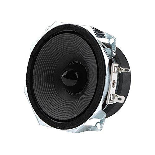 VBESTLIFE Auto Lautsprecher,3 Zoll Breitbandlautsprecher,8Ω Super Deep Bass DIY Bass Lautsprecher,geeignet für Multimedia, Bücherregale und Studio Studieren usw,2 Stücke -