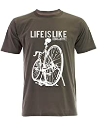 PALLAS Unisex's Cycling Life Is Like Riding A Bicycle