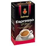 Dallmayr Espresso d'Oro, Kaffee, Gemahlener Röstkaffee, Barista Qualität, Goldene Crema, 250 g