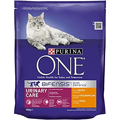 Purina ONE Urinary Care Dry Cat Food Chicken 800g - Case of 4 (3.2kg)
