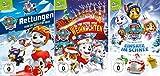Paw Patrol - DVD 3 (Winter) + 12 (Weihnachten) + 17 (Schnee) im Set - Deutsche Originalware [3 DVDs]