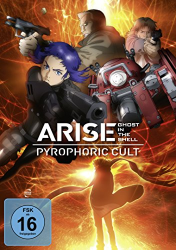Ghost in the Shell - ARISE: Pyrophoric Cult Shell-tv
