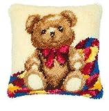 Vervaco Knüpfkissen Teddy Bär