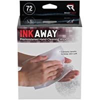 Ink Away Hand Cleaning Pads, Cloth, White, 72/Pack, Sold as 1 Package - Trova i prezzi più bassi