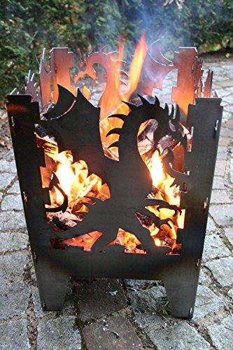 *SvenskaV Feuerkorb Drache L 2031*