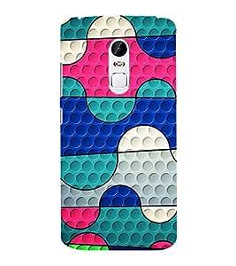 EPICCASE Colorful Spots Mobile Back Case Cover For Lenovo Vibe X3 (Designer Case)